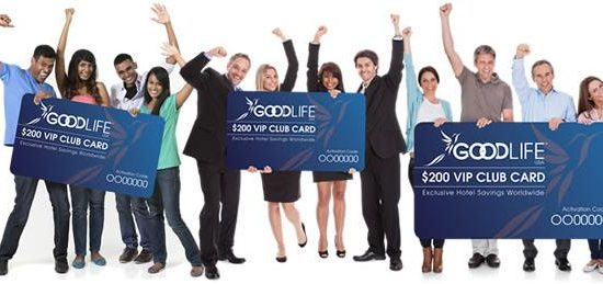 GoodLife USA $200 Hotel Savings Card